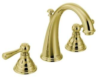 Moen Kingsley Widespread Bathroom Faucet with Drain Assembly