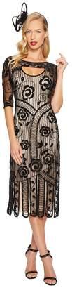 Unique Vintage Avalon Flapper Dress Women's Dress