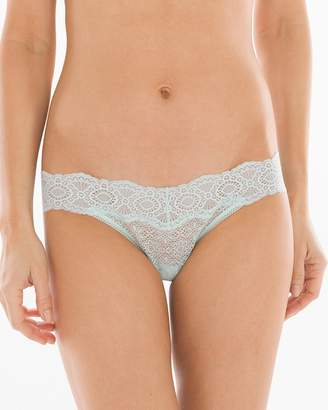 Embraceable Allover Geo Lace Thong
