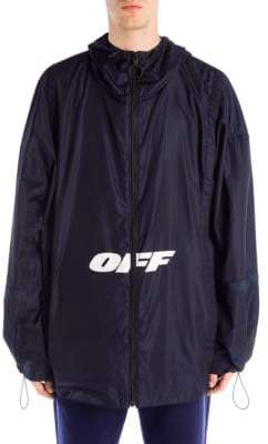 Off-White Graphic Windbreaker Jacket