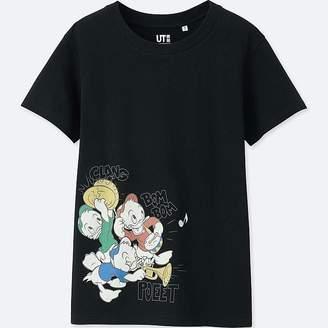 Uniqlo Women's Sounds Of Disney Short-sleeve Graphic T-Shirt