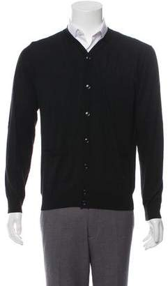 Kenzo Wool button-Up Cardigan