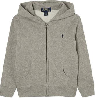Ralph Lauren Zip-up cotton-blend hoody 6-14 years $69 thestylecure.com