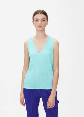 Pleats Please Issey Miyake GLASS COLORS Sleeveless Top
