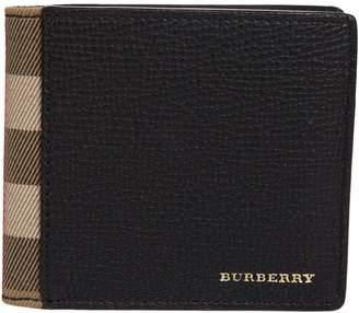 Burberry Checked Detail Wallet