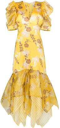 Silvia Tcherassi Lycka floral print maxi-dress