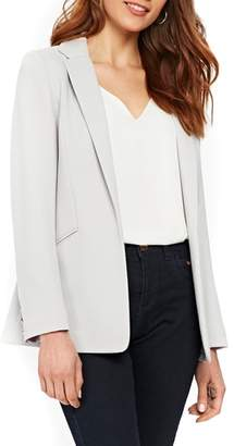 Wallis Ribbed Stretch Knit Blazer