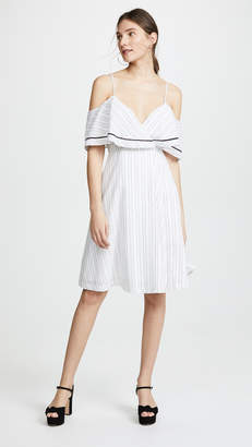 J.o.a. Ruffle Dress
