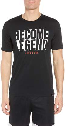 Nike JORDAN Become Legend Graphic T-Shirt