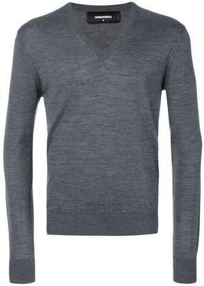 DSQUARED2 classic V-neck jumper