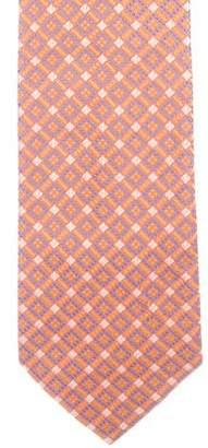 Stefano Ricci Geometric Jacquard Silk Tie