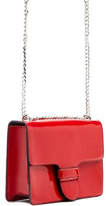 Forever 21 Faux Patent Leather Crossbody