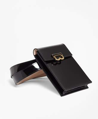 Patent Leather Pouch Belt $498 thestylecure.com