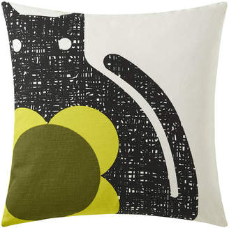 Orla Kiely Poppy Cat Cushion