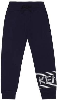 Kenzo Logo cotton trackpants