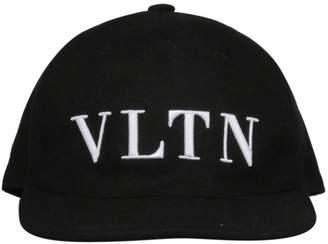 Valentino Vltn Embroidered Cap