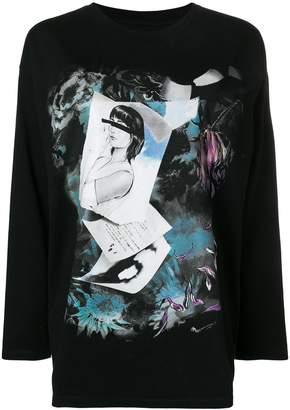 MM6 MAISON MARGIELA printed sweatshirt