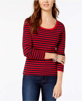 Tommy Hilfiger Striped Top, Created for Macy's