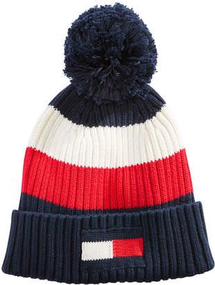 Tommy Hilfiger Men's Colorblocked Pom Hat