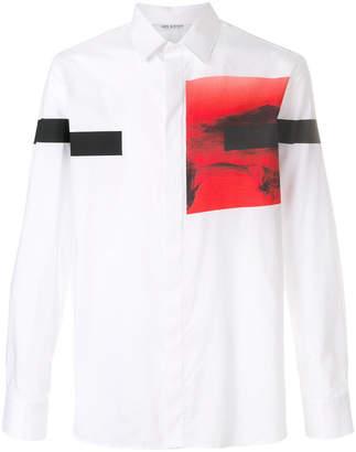 Neil Barrett photo print shirt
