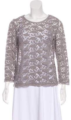 Joie Lace Long Sleeve Top