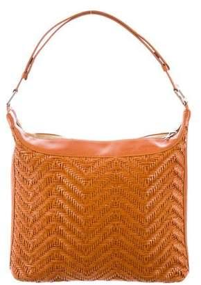 Roberta Di Camerino Woven Leather Shoulder Bag