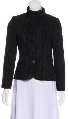 Cacharel Pinstripe Wool Blazer