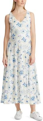 Chaps Women's Blue Sleeveless Dress