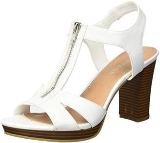Rampage Women's Preeta Peep Toe Platform Heel Sandal Heeled