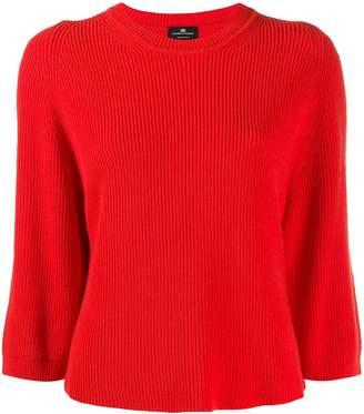 Elisabetta Franchi ribbed knit boxy sweater