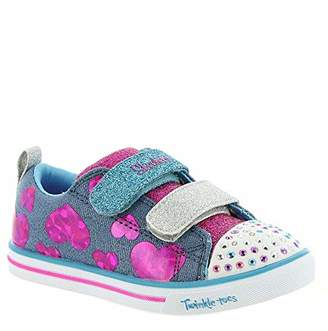 Skechers Girls' Sparkle LITE Trainers,5 (22 EU)