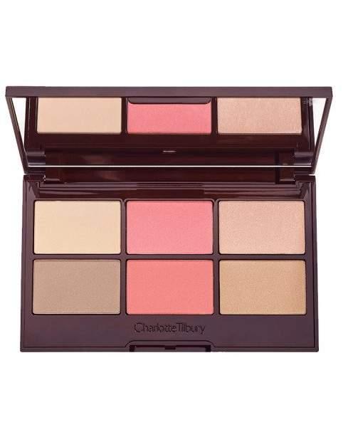 Charlotte Tilbury Glowing, Pretty Skin Palette Face Palette