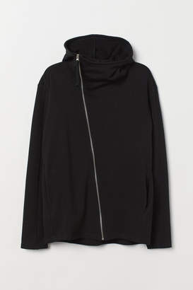 H&M Hooded Cardigan - Black