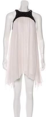 Thomas Wylde Studded Midi Dress