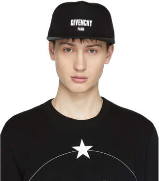 Givenchy Black Paris Cap