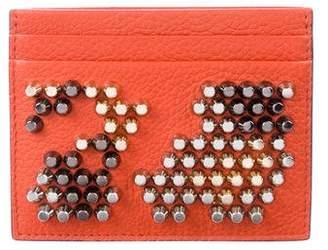 Christian Louboutin Studded Leather Cardholder