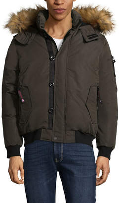CANADA WEATHER GEAR Canada Weather Gear Woven Heavyweight Bomber Jacket