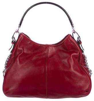 Sergio Rossi Smooth Leather Hobo