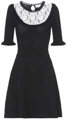 RED Valentino Lace-trimmed dress