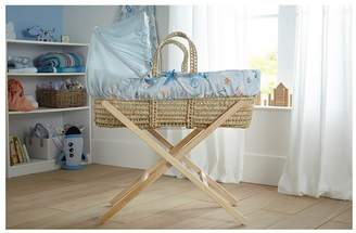 Clair De Lune Forty Winks Palm Moses Basket