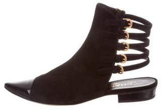 Chanel Cap-Toe Ankle Boots Black Cap-Toe Ankle Boots