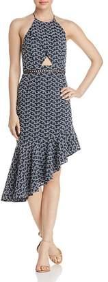 Keepsake Blossom Halter Dress