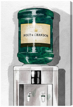 Oliver Gal Champagne For Days Canvas Art By The Artists Co. By The Artist Co.