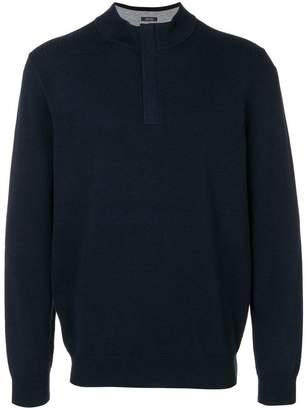 HUGO BOSS concealed fastening sweater