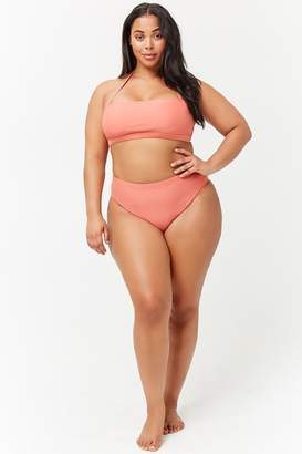 646edecdf96 Forever 21 Pink Plus Size Swimsuits - ShopStyle Canada