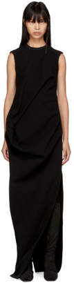 Rick Owens Black Ellipse Dress