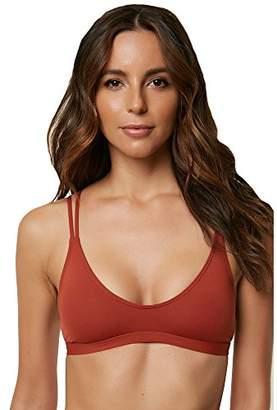 O'Neill Women's Salt Water Solids Bralette Bikini Top Swimsuit