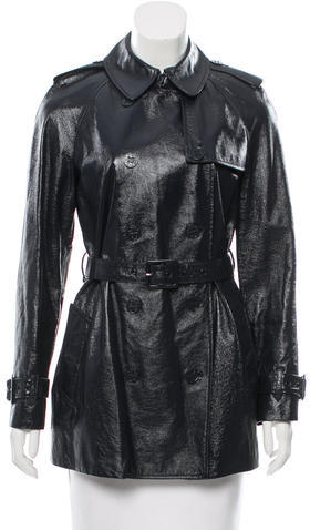 Tory BurchTory Burch Patent Leather Trench Coat