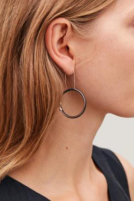Cos RUBBER-RING HOOP EARRINGS