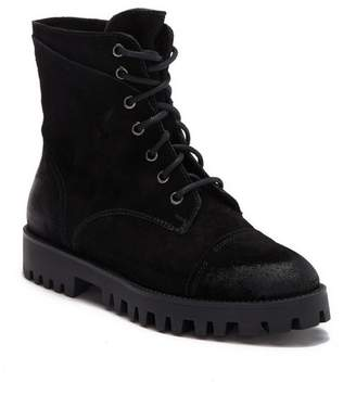 Manas Design Polacco Pelle Stringato Boot